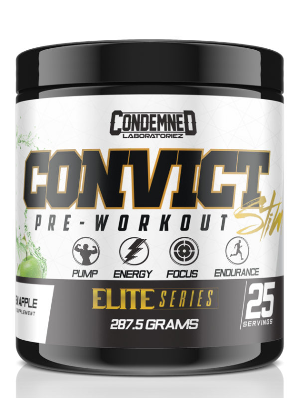 Condemned Labz Convict Stim Pre-Workout