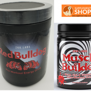ZKK Redbull Preworkout and Bcaa Bundle