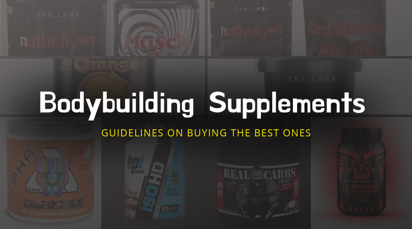 Bodybuilding Supplements UK: Guidelines on Buying the Best Ones